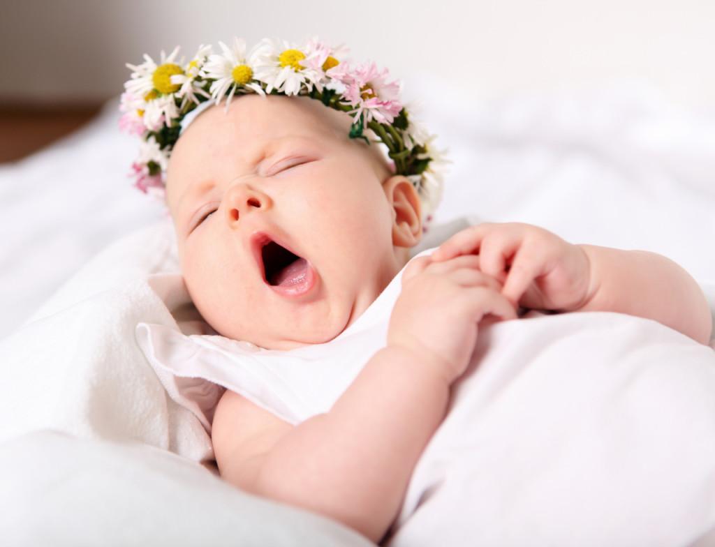 Крепки сон ребенка