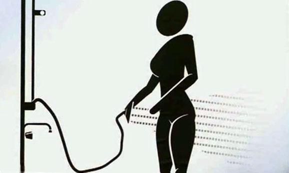 Как подмываются девушки фото